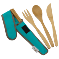To-Go Ware RePEaT Utensil Set Agave Teal