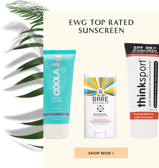 EWG Best Rated Sunscreen