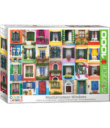 EuroGraphics Mediterranean Windows Puzzle