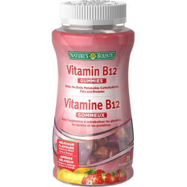 Nature\'s Bounty Vitamin B12 Gummies