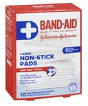 Johnson & Johnson First Aid Non-Stick Pads