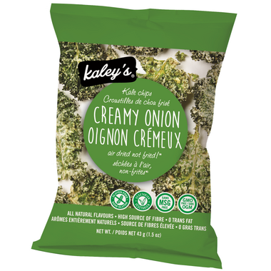 Kaley\'s Kale Chips Creamy Onion Flavour