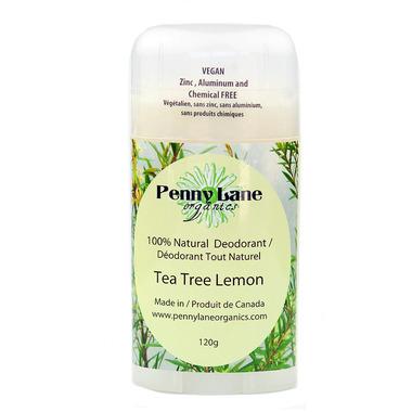 Penny Lane Organics Natural Deodorant Tea Tree Lemon