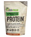 Iron Vegan Sprouted Protein Powder Salted Caramel