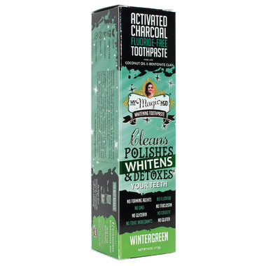My Magic Mud Activated Charcoal Toothpaste for Whitening