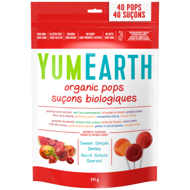 YumEarth Organic Fruit Pops