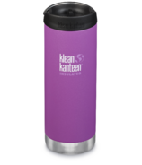 Klean Kanteen TKWide With Cafe Cap Berry Bright