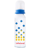 Lollaland Glass Baby Bottle Large Blue