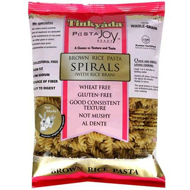 Tinkyada Brown Rice Spiral Pasta