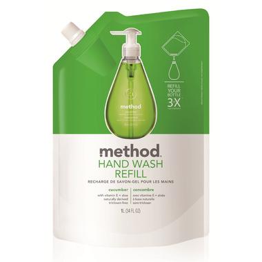 Method Gel Hand Wash Refill Cucumber