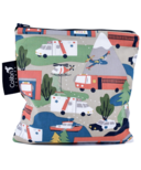 Colibri Reusable Snack Bag Large in Mountain Rescue