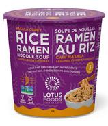 Tasse de soupe Ramen Masala Curry de Lotus Foods