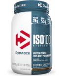 Dymatize Nutrition ISO100 Hydrolyzed Whey Protein Gourmet Chocolate