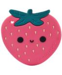 Loulou Lollipop Strawberry Teether Single
