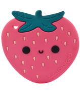 Loulou Lollipop Strawberry Teether Single