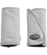JJ Cole Reversible Grey Herringbone Strap Covers