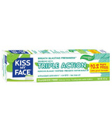 Kiss My Face Triple Action Cool Mint Gel Toothpaste