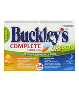 Buckley's Complete Liquid Gels Day + Night Pack