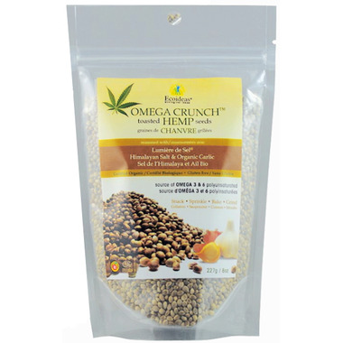 Nutri Crunch Organic Garlic Toasted Hemp Seeds