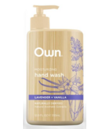 OWN Beauty by Every Man Jack Hand Wash Lavender & Vanilla