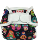 Bummis Super Whisper Wrap Diaper Cover Russian Dolls