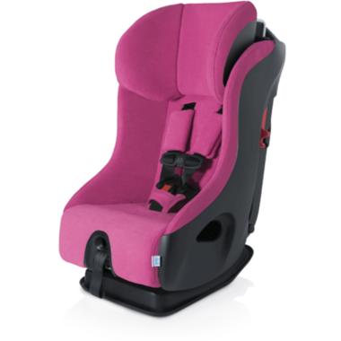 Clek Fllo Convertible Car Seat with Anti-Rebound Bar in Flamingo
