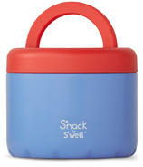 S'nack x S'well Blue Cornflower Food Container