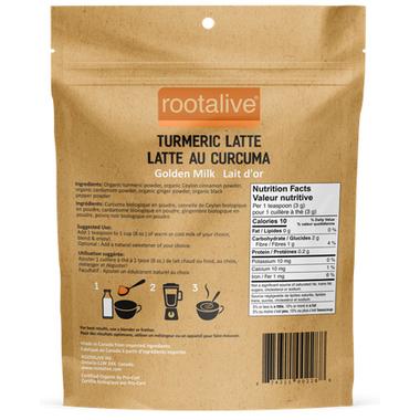 Rootalive Organic Turmeric Latte