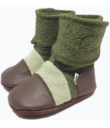 Nooks Design Booties Coastal Forest 6-18M