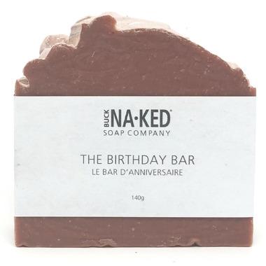 Buck Naked Soap Company The Birthday Bar
