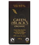 Green & Black's Organic 85% Dark Chocolate Bar