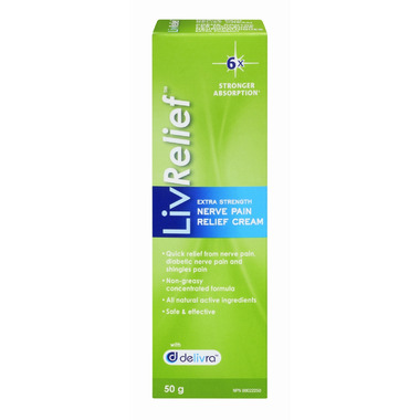 LivRelief Extra Strength Nerve Pain Relief Cream