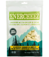 Enercheez Premium Artisan Crunchy Cheddar Cheese with Onion & Chive