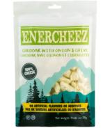 Fromage cheddar croustillant artisanal Enercheez Premium avec oignon et ciboulette