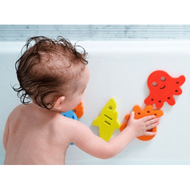 Ubbi Sea Critters Foam Bath Toys