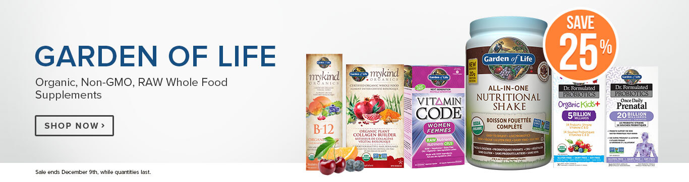 Save 25% on Garden of Life
