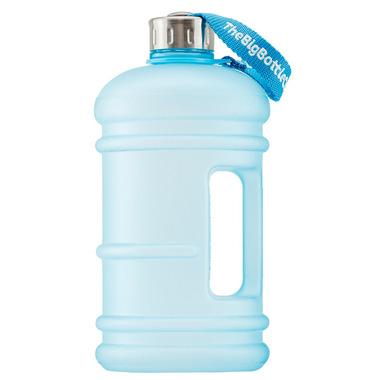 The Big Bottle Co 1.5L Frosted Aqua Traveller