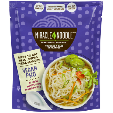 Miracle Noodle Ready to Eat Vegan Pho