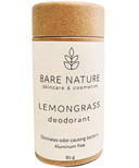 Bare Nature Products Deodorant Lemongrass Compostable