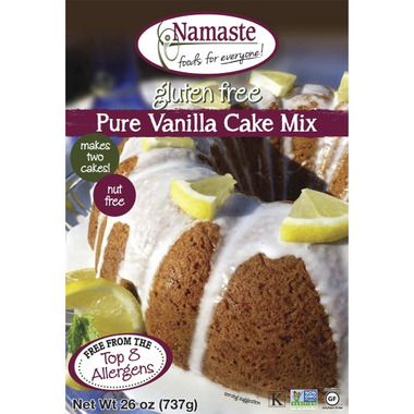 Namaste Foods Vanilla Cake Mix