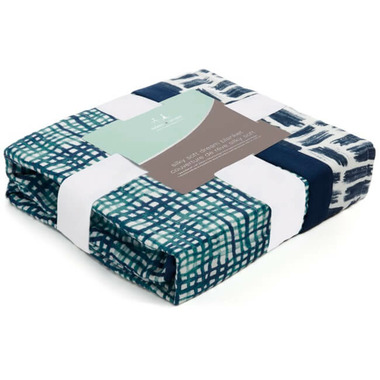 aden + anais Bamboo Silky Soft Dream Blanket Seaport