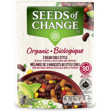 Seeds of Change 3 Bean Chili in Spicy Chipotle