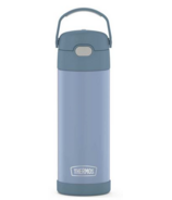 Thermos Stainless Steel FUNtainer Bottle with Spout Denim Blue