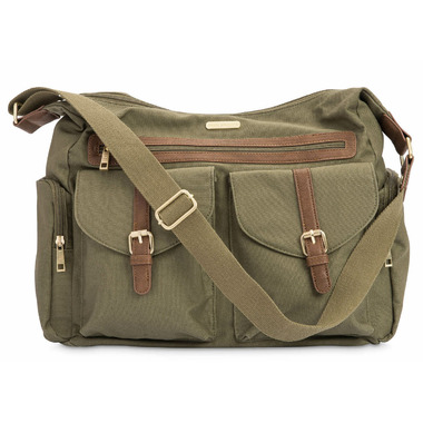 Little Unicorn Rambler Satchel Olive