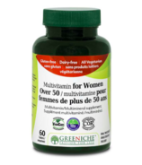 Greeniche Multivitamine pour femme de plus de 50ans