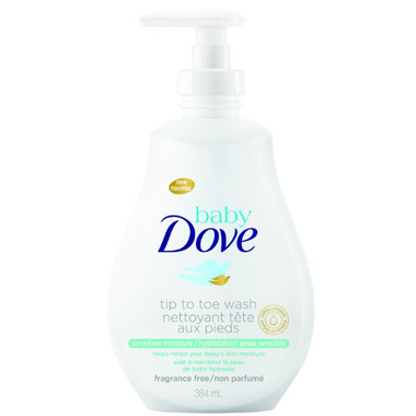 Baby Dove Rich Sensitive Moisture Tip to Toe Wash