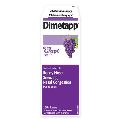 Dimetapp Cold Grape