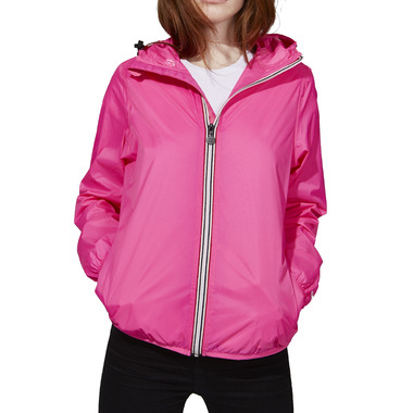 ddd5cfc41 O8 Lifestyle Sloane Full Zip Packable Jacket Pink Fluo
