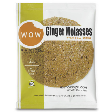 WOW Baking Ginger Molasses Individually Wrapped Cookie