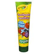 Gum Crayola Toothpaste Anticavity Fluoride